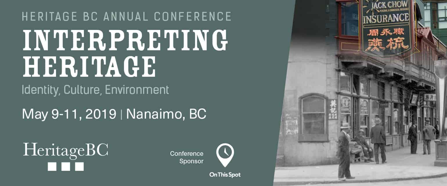 Heritage BC 2019 Conference