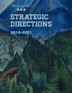 Cover image of the Strategic Directions document. Picture is of a painting by Emily Carr.