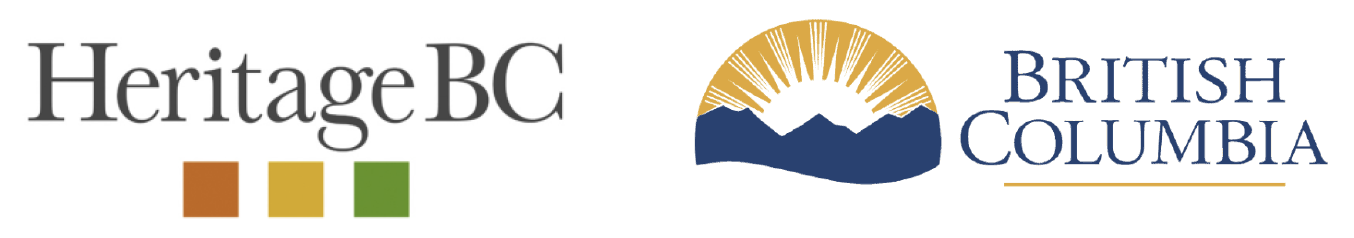 logos for Heritage BC and Province of BC